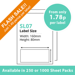 cheap single integragted label sl07-sale