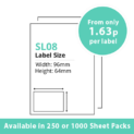 cheap single integragted label sl08