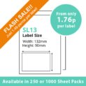 cheap single integragted label sl13-sale