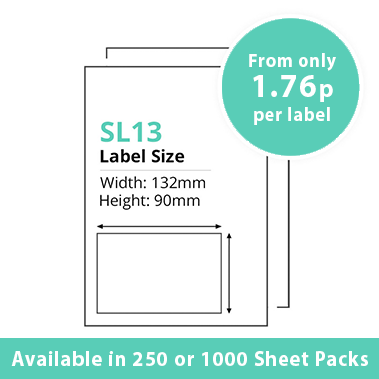 cheap single integragted label sl13
