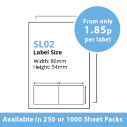 cheap single integragted label sl02