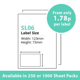 cheap single integragted label sl06